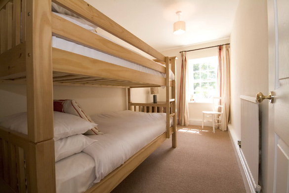 The bunk bedroom at Croft House (sleeps 12)