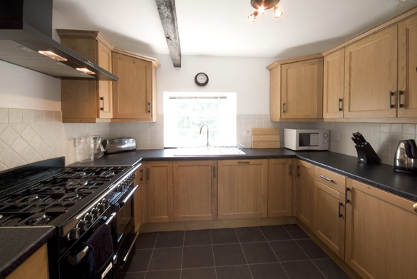 The kitchen at Croft House (sleeps 12)