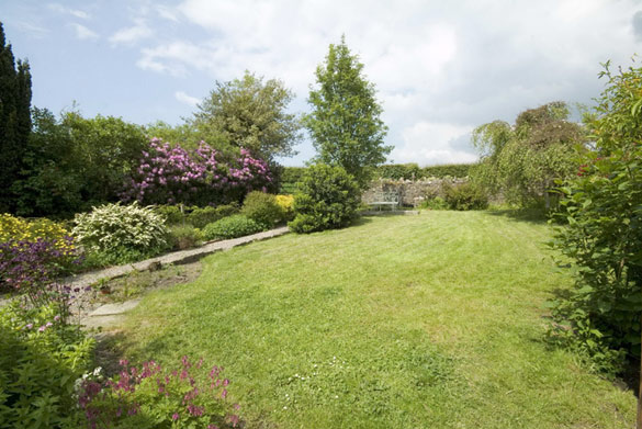 The garden at Rose Cottage (sleeps 4)