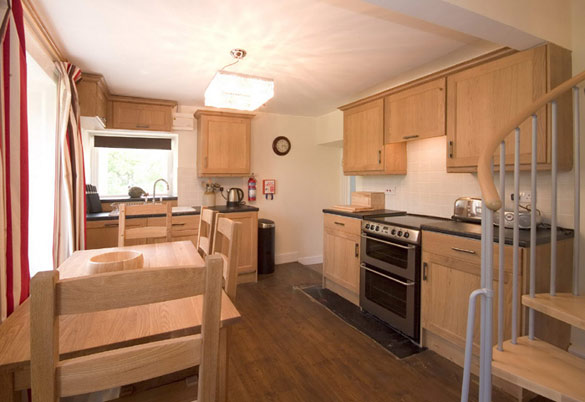 The kitchen area at Rose Cottage (sleeps 4)