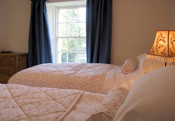 The twin bedroom at Rose Cottage (sleeps 4)
